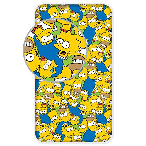 The Simpsons Sábana bajera ajustable...