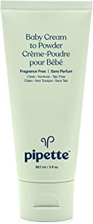 Pipette Talc-Free Cream to Baby Powder (3-Ounce)