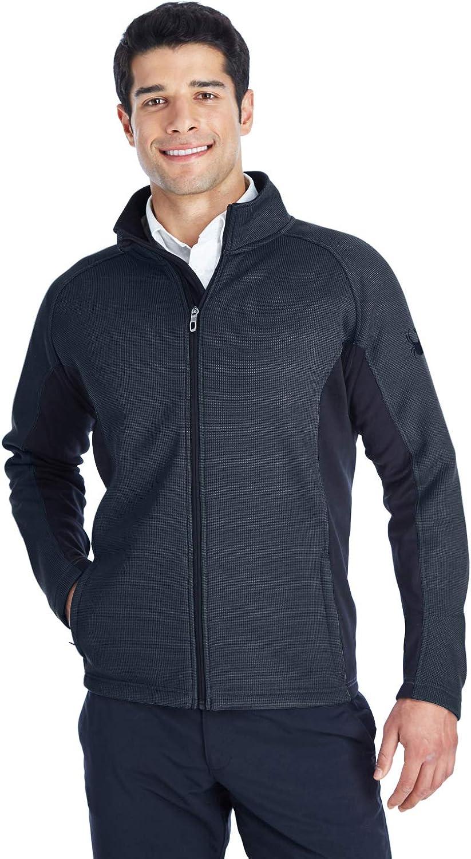 Spyder Men's Constant Full-Zip Sweater Fleece S Frntier/Blk/ Bl