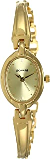 Analog Gold Dial Women's Watch - ND8048YM02