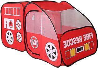 JVSISM Kids Indoor Outdoor Tent Garden Game House Gift - Fire Truck
