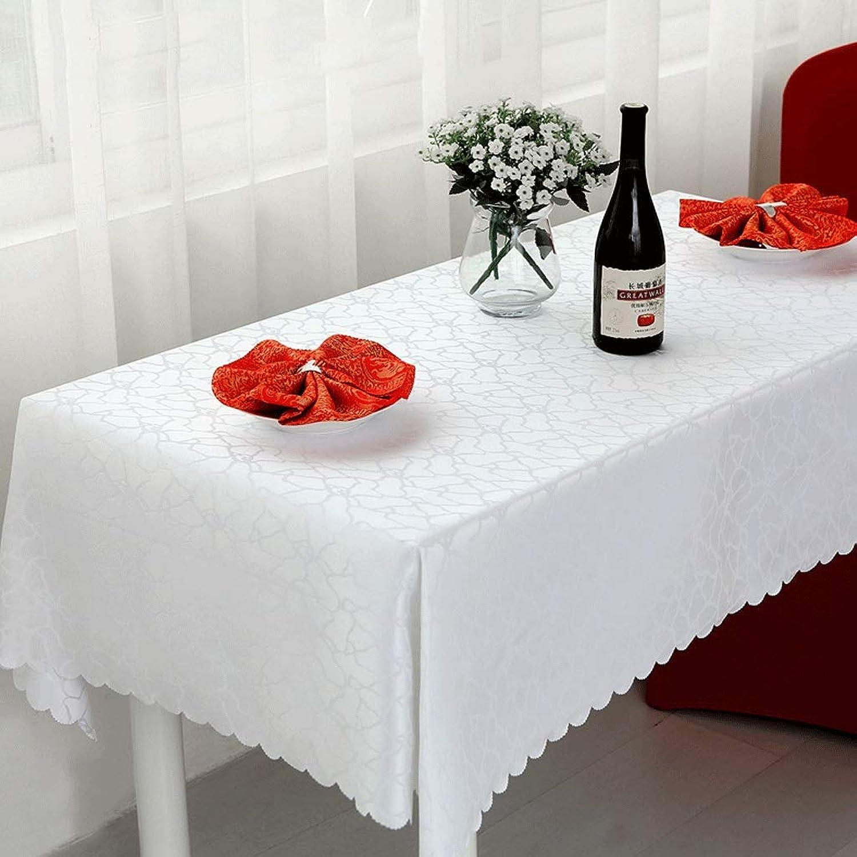 bienvenido a orden Mantel- Mantel- Mantel- Mesa de Centro de la Conferencia del Hotel Mantel Mantel Rectangular de la Boda del Hotel (Color   blanco, Talla   Round 200cm)  tiempo libre