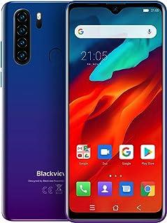 Blackview A80 Pro 4G Smartphone zonder abonnement, scherm van 6,49 inch, Android 9.0, 4 GB RAM + 64 GB ROM, 128 GB uitbrei...