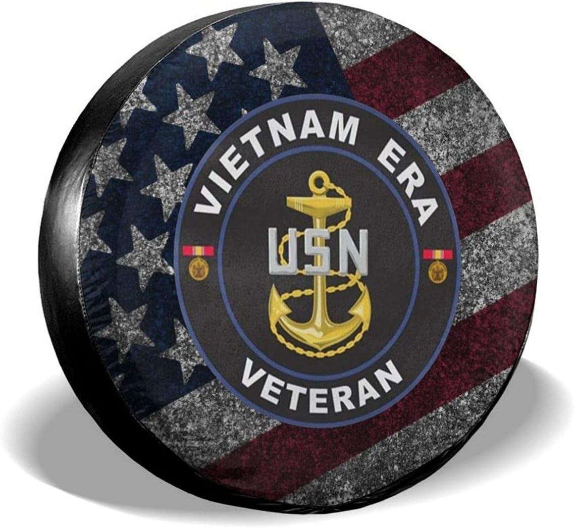 United States Navy Vietnam Era Spare Waterpro free shipping 25% OFF Cover Veteran Tire