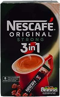 Original Nescafe Original Strong 3in1 Coffee Sachets