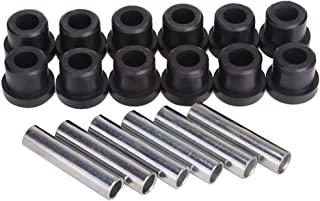 10L0L Bushing Kit for Club Car, Front or Rear Leaf Spring & Front Upper A Arm Suspension for Club Car DS Golf Cart, Bushing and Sleeve Kit