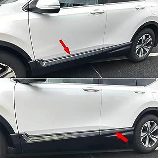 Beautost For Honda 2017 2018 2019 CR-V CRV Chrome Body Side Door Molding Trim Cover Stainless Steel