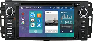 Android 10 Car Stereo Radio GPS navigation with 6.2 Inch Touch Screen Mirror-link Bluetooth WiFi 4G USB DVR SWC RDS Fits f...