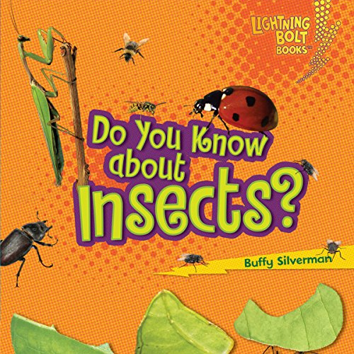 Do You Know About Insects? audiobook cover art