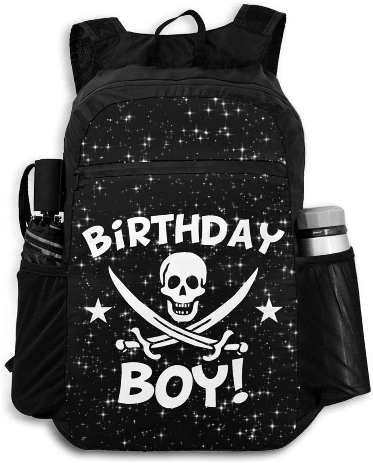 Zolama Birthday Boy Pirate Skull Backpacks for Challenge the lowest price of Japan ☆ Men Cute Pa 2021new shipping free Women