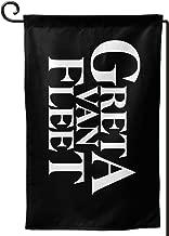 MaMing Greta Van Fleet Garden Flag Personalized Home Flag Polyester Design House Flag New Yard Flag 12.518 in
