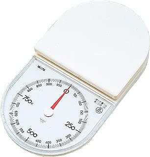 タニタ はかり スケール 料理 1kg 5g ホワイト 1445-WH