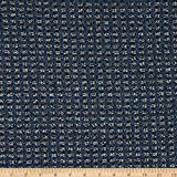 TELIO 0740893 Chenille Poly Tweed Fabric Stoff, baumwolle,