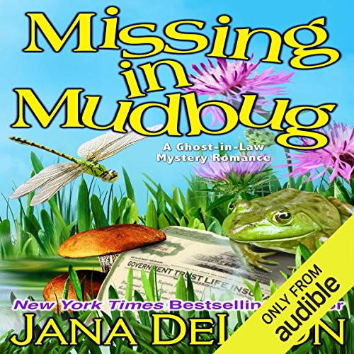 Missing in Mudbug audiobook cover art