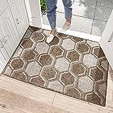 dexi zerbino ingresso casa 80 x 120 cm,tappeto ingresso interno,raccogli sporco,tappeto antiscivolo,lavabile,tappeto ingresso interno arredare la tua casa- marrone