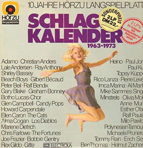 Schlager Kalender 1963-1973 [2xVinyl]