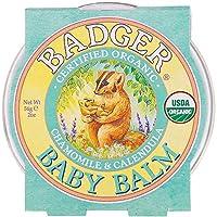 バジャー(BADGER) デリケートバームChamomile & Calendula, 2 oz (56 g)- 3Packs