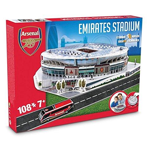 NANOSTAD - 03735 3D Puzzle Arsenal Emirates Stadium