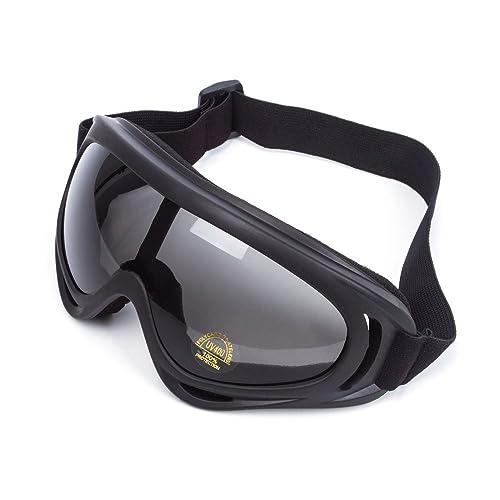 f309958b429efe Lunettes de Protection Masque de Visage Incassable Anti-UV Coupe-Vent  Anti-Poussière