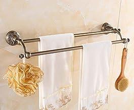 MBYW moderne minimalistische hoge dragende handdoek rek badkamer handdoekenrek Groen brons gesneden handdoek rek/dubbele h...