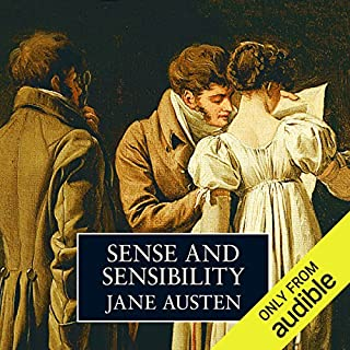 Sense & Sensibility audiobook cover art