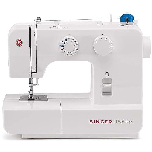 Singer Promise 1409 - Máquina de coser mecánica, 9 puntadas, 120 V, color