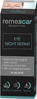 Remescar - Reparación Nocturna - Contorno De Ojos - Reduzca Las Bolsas Para Los Ojos Y Las Ojeras - Reduzca La Apariencia De Las Patas De Gallo - Crema De Noche Para Los Párpados Caídos