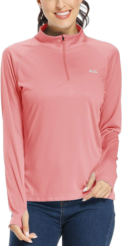 Willit Women's UPF 50+ Sun Protection Purchase Shirt Sleeve Choice Golf SPF Long