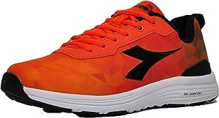 Diadora Men Swan +4 Memory Foam Running Shoes Tigerily/Black 12