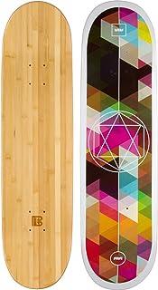 Bamboo Skateboards Sutsu Geometricity Graphic Skateboard Deck