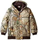 Carhartt Little Boys' Work Camo Active Jacket Little Boy, Realtree Xtra, 4-5/XX-Small