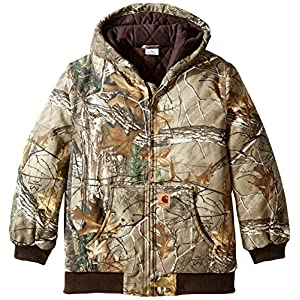 Carhartt Boys' Active Jac Quilt Lined Jacket Coat