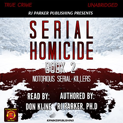 Serial Homicide audiobook cover art
