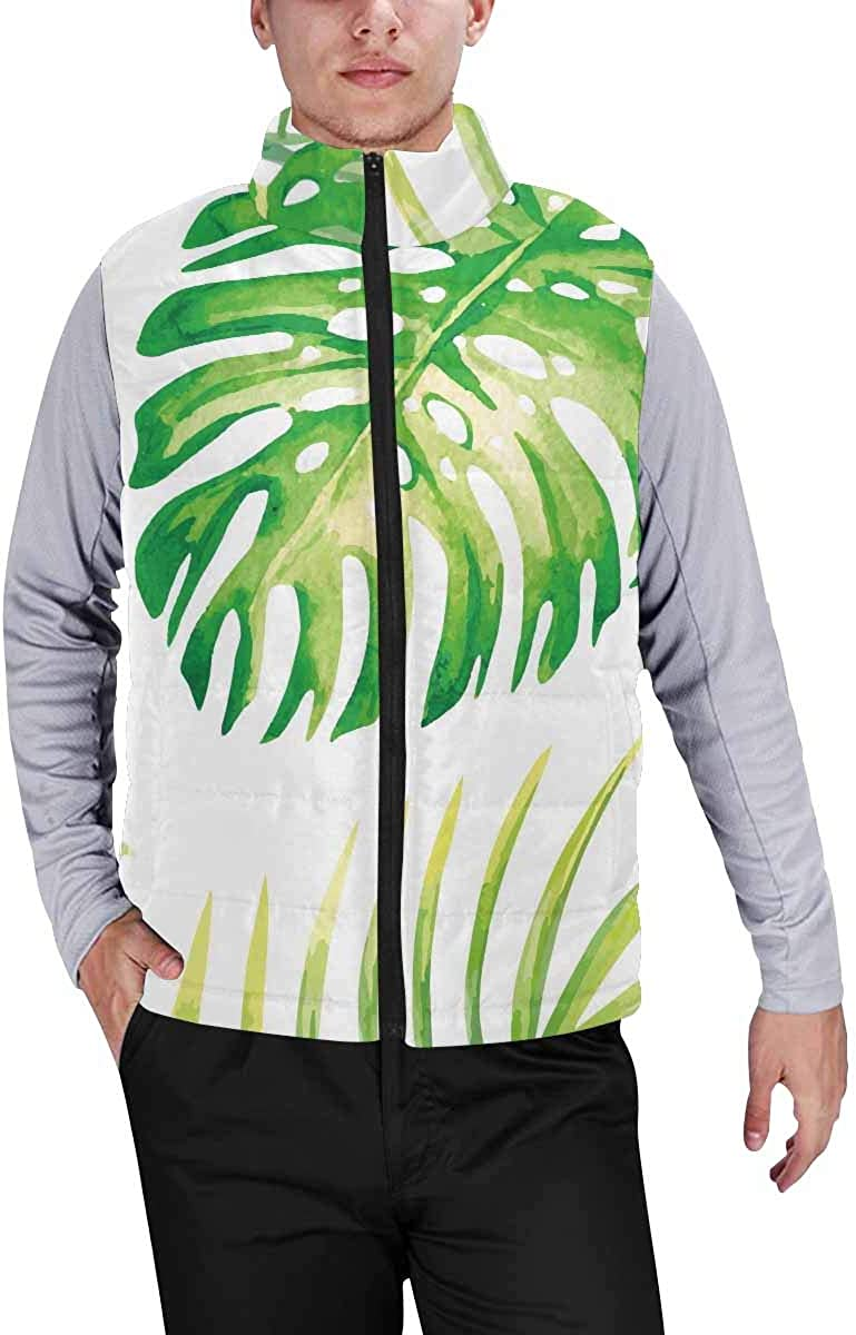 InterestPrint Men's Soft Stand Collar Jacket for Fishing Hiking Cycling Watercolor Decoration Bohemian Dreamcatcher