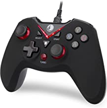 IFYOO-V108-Red V-one Wired USB Gaming Controller Gamepad Joystick for PC (Windows..