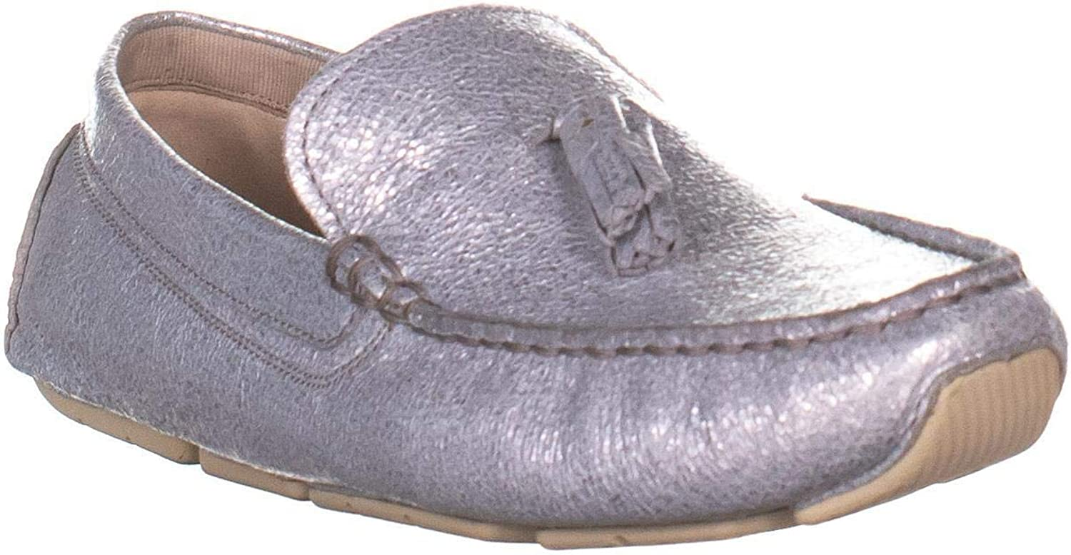 Cole Haan Rodeo Tassel Driver Classic Tassel Loafers, Glitter Leather