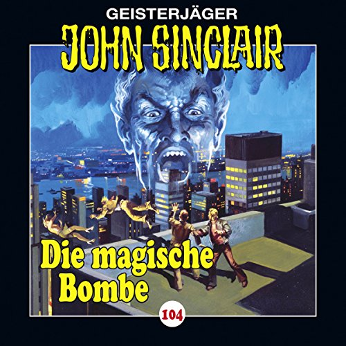 Die magische Bombe audiobook cover art