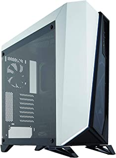 Corsair SPEC-OMEGA Tempered Glass -Black & White- ミドルタワー型PCケース [強化ガラスモデル] CS7118 CC-9011119-WW