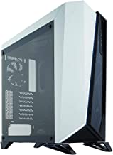 CORSAIR Carbide SPEC-Omega Mid-Tower Gaming Case, Tempered Glass- White