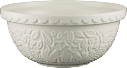 Mason Cash in The Forest Fox Cream Earthenware Mixing Bowl, 29cms, Cream 28454