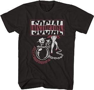 Social Distortion Tシャツ Ball & Chain '90 Tour Social Distortion Shirt