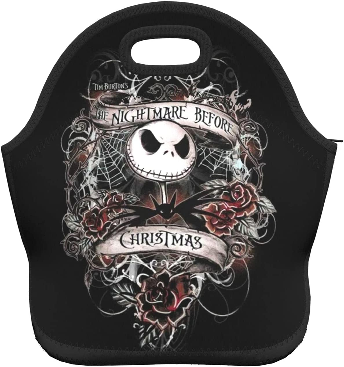 Nightmare Before Christmas Lunch Insulated Bag Bo Portable Max Ranking TOP5 53% OFF