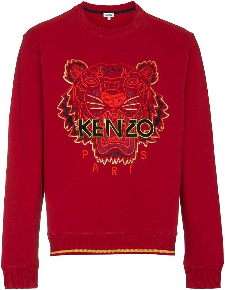 Kenzo limited edition, felpa da uomo,in puro cotone al 100%,taglia eu m F855SW0014X