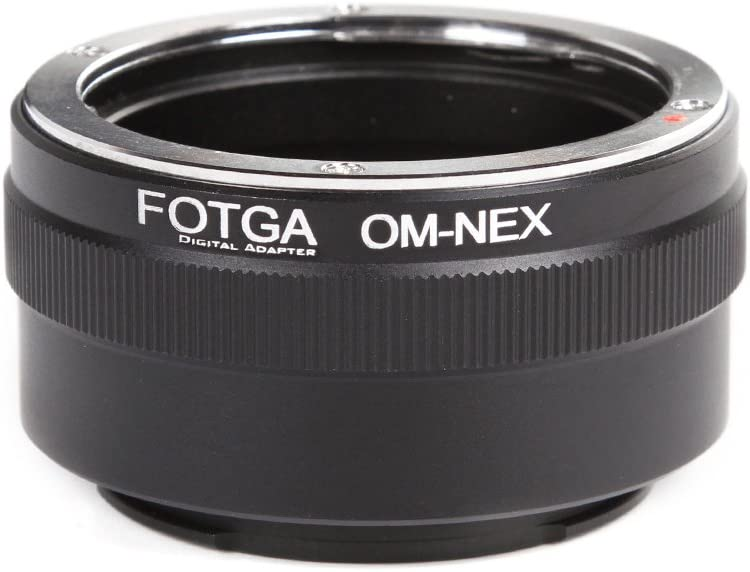 FocusFoto FOTGA Adapter Ring for Olympus Lens E-Mount OM Bombing new work Sony to overseas
