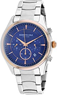 ساعة كينيث كول للرجال KC50946002 كوارتز فضية