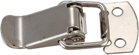Fltaheroo Zilveren Toon Metaal Toggle Draw Rechte Loop Catch 1,6 inch
