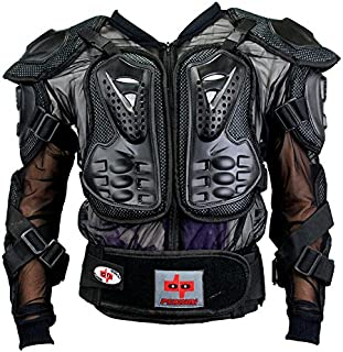 Perrini CE Approved Full Body Armor Motorcycle Jacket