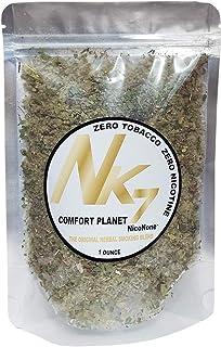 NicoNone -Comfort Planet- Gotu Kola, Mullein, Uva Ursi, Skullcap, Marshmallow, Damiana, Lobelia Leaf Smoking Blend Mix 1 O...