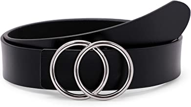 Best black belt with two silver circles Reviews