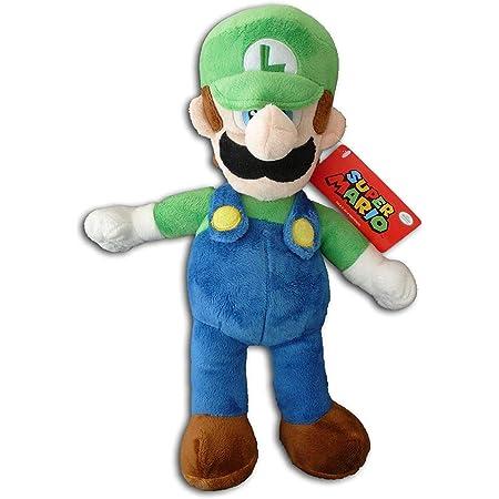 Super Mario Bros - Peluche Luigi 35cm Qualità super soft